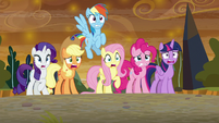 Mane Six horrified by what they see S9E2