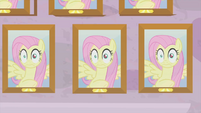 Multiple wall photos of Fluttershy MLPS3