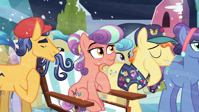File:Pin Pony touches his tear S6E2.png
