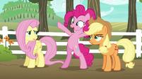 Pinkie Pie --betting it's super duper fun!-- S6E18