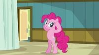 Pinkie Pie says her head is the shape of an apple S2E16