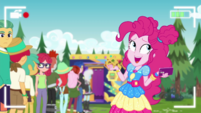 "Pinkie Pie shrugging ""your loss"" EGDS47"