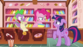 Pinkie looks offended by Twilight's implication S6E22.png