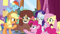 "Ponies to Yona ""you fit right in!"" S9E7"