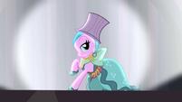 Pony wearing Hotel Chic dress S4E08
