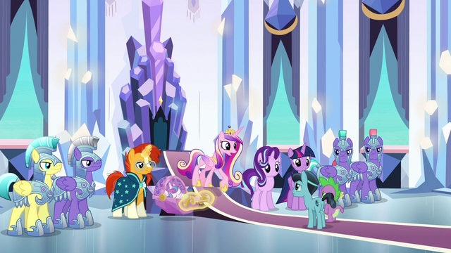 File:Princess Cadance approaching Crystal Hoof S6E16.png