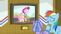"""Rainbow """"takes up most of my time"""" S9E6"""