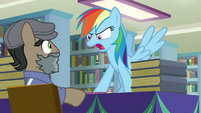 "Rainbow ""up to your old tricks again"" S9E21"