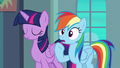 "Rainbow Dash ""it's gonna be pretty obvious"" S6E24.png"