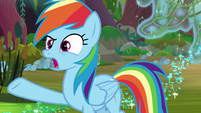 Rainbow Dash -what Daring Do did- S8E17