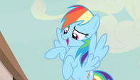 Rainbow Dash -you're kidding, right-- S5E1