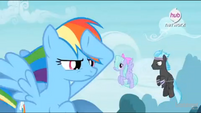 Rainbow Dash on vigil EW Promotional Teaser