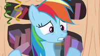 Rainbow Dash sweating S4E04