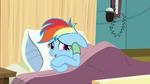 Rainbow Dash sweaty and nervous S02E16
