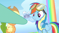 Rainbow Dash you're kidding right S3E7