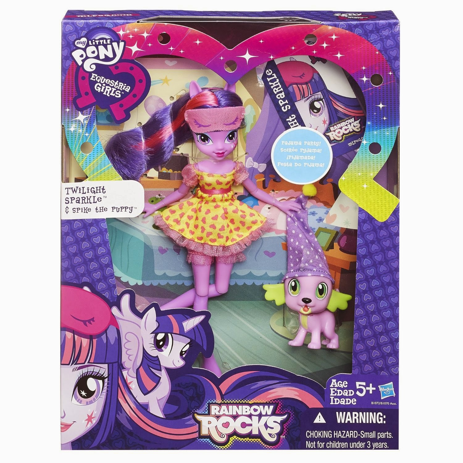 Image Rainbow Rocks Twilight Sparkle and Spike the Puppy toy