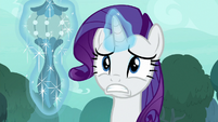 Rarity levitating Zecora's ear drops S8E11