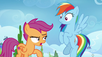 "Scootaloo ""would've been a lot cooler"" S8E20"