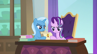 Starlight and Trixie read Twilight's letter S9E24
