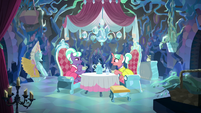 Stepford Ponies having a tea party S8E22