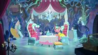 Stepford Ponies having a tea party S8E22