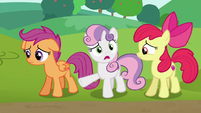 Sweetie Belle --now they're gonna drive them-!-- S6E14