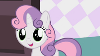 Sweetie Belle entering room S2E05