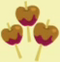 Three caramel apples cutie mark crop