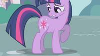Twilight's stomach grumbling yet again S1E03