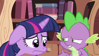Twilight Sparkle upset S2E03