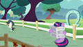 Twilight reads the Foal Free Press S5E19.png