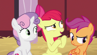 Apple Bloom -no idea who it's from- S8E10