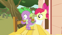 Apple Bloom but wait S3E11