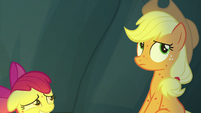 Apple Bloom shrinks down in embarrassment S7E16