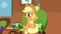 "Applejack ""sure made a fool outta me, too"" S7E5.png"