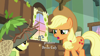 "Applejack ""you haven't hunted for"" S9E10"