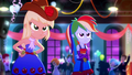 Applejack and Rainbow Dash stare disapprovingly SS3.png