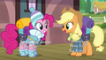 Applejack asks Pinkie if she forgot anything S6E17.png