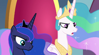 Celestia -he could be responsible- S8E25