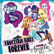 Equestria Girls Forever portada digital del sencillo