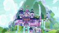 Exterior view of School of Friendship S8E12.png