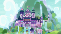 Exterior view of School of Friendship S8E12