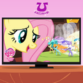 Facebook promotional Fluttershy and the Breezies.png