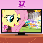 Facebook promotional Fluttershy and the Breezies