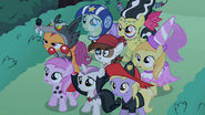 Fillies standing in fear S2E4