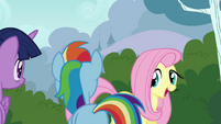 "Fluttershy ""creatures known as Breezies"" S4E16"