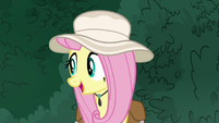"Fluttershy ""ever tried just talking to them?"" S9E21"