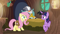 """Fluttershy """"we have to go now!"""" S7E20"""