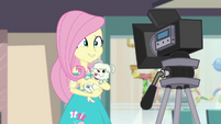 Fluttershy smiling at the camera EGDS23