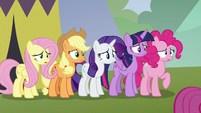 Main five feeling sorry for Scootaloo S8E20